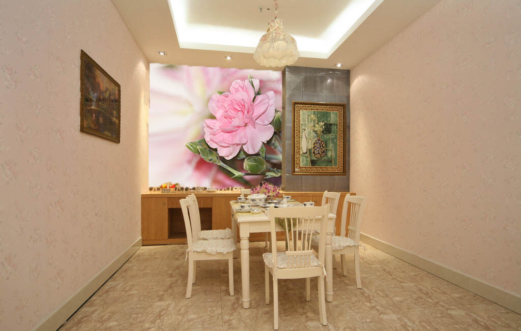 3D Rosa Blüten 963 Tapete Wandgemälde Tapete Tapeten Bild Familie DE Summer | Good Design  | Sale Online Shop  | Clearance Sale
