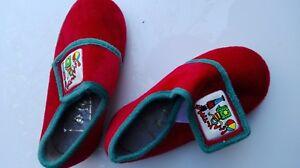 1 Paire Garçons Chaussons Petite Taille 6 Enfants Pantoufles Velcr Filles Garçons-afficher Le Titre D'origine Rendre Les Choses Pratiques Pour Les Clients