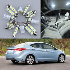 Premium White Light Interior LED Package 6x for Hyundai Sonata i45 i40 11 12 L7