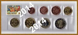 FINLANDE Série 2014 - 8 Monnaies 1 cent à  2 Euro sous étui PVC