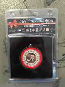 University of Alabama Crimson Tide Christmas Holiday Ornament