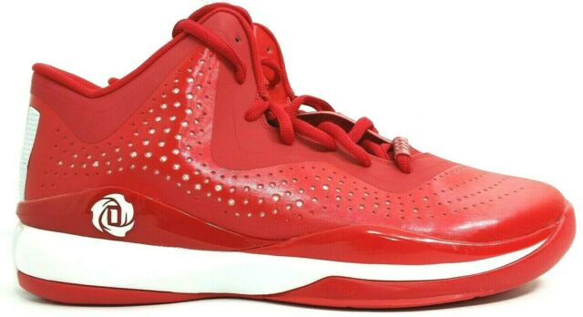 NEW Adidas SM D Rose 773 III Red Men's Basketball Shoes Size 12.5 Derrick S84348