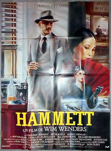 Plakat Hammett Frederic Forrest Wim Wenders Peter Boyle Peellaert 120x160cm