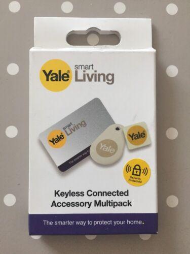 Nouveau Yale Smart Living Serrure De Porte Accessoire Conditionnement multiple-Carte de clé Key Tag téléphone TAG