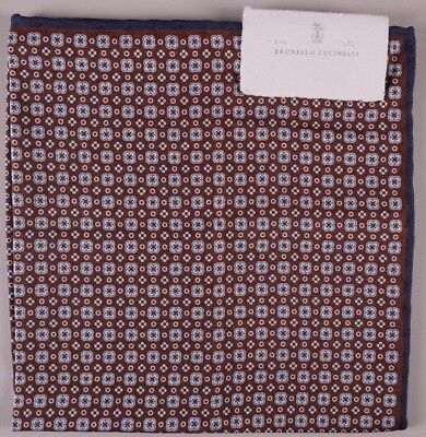 Brunello Cucinelli Handkerchief//Pocket Square with Floral Motif BNWT RRP £150