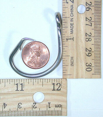 100 39965 size 13//0 Stainless  Circle Hooks NEW Lucky Size!!!