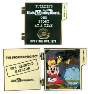 LE-750-Florida-Project-Haunted-Mansion-Leota-Minnie-Building-Story-Disney-Pin