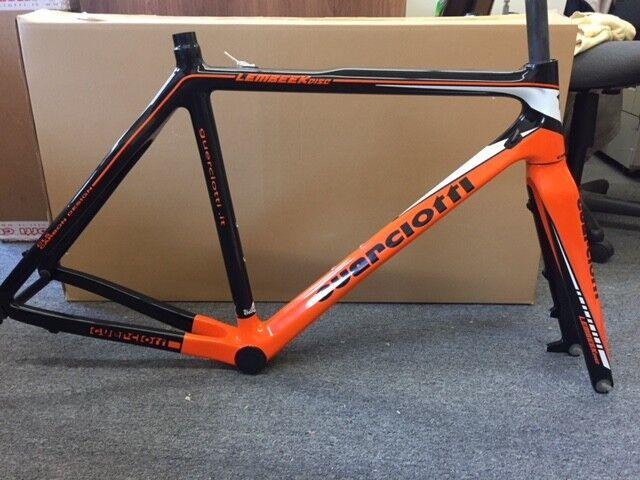 GUERCIOTTI Lembeek K Disc ciclo-cross Marco-Naranja Negro Talla S