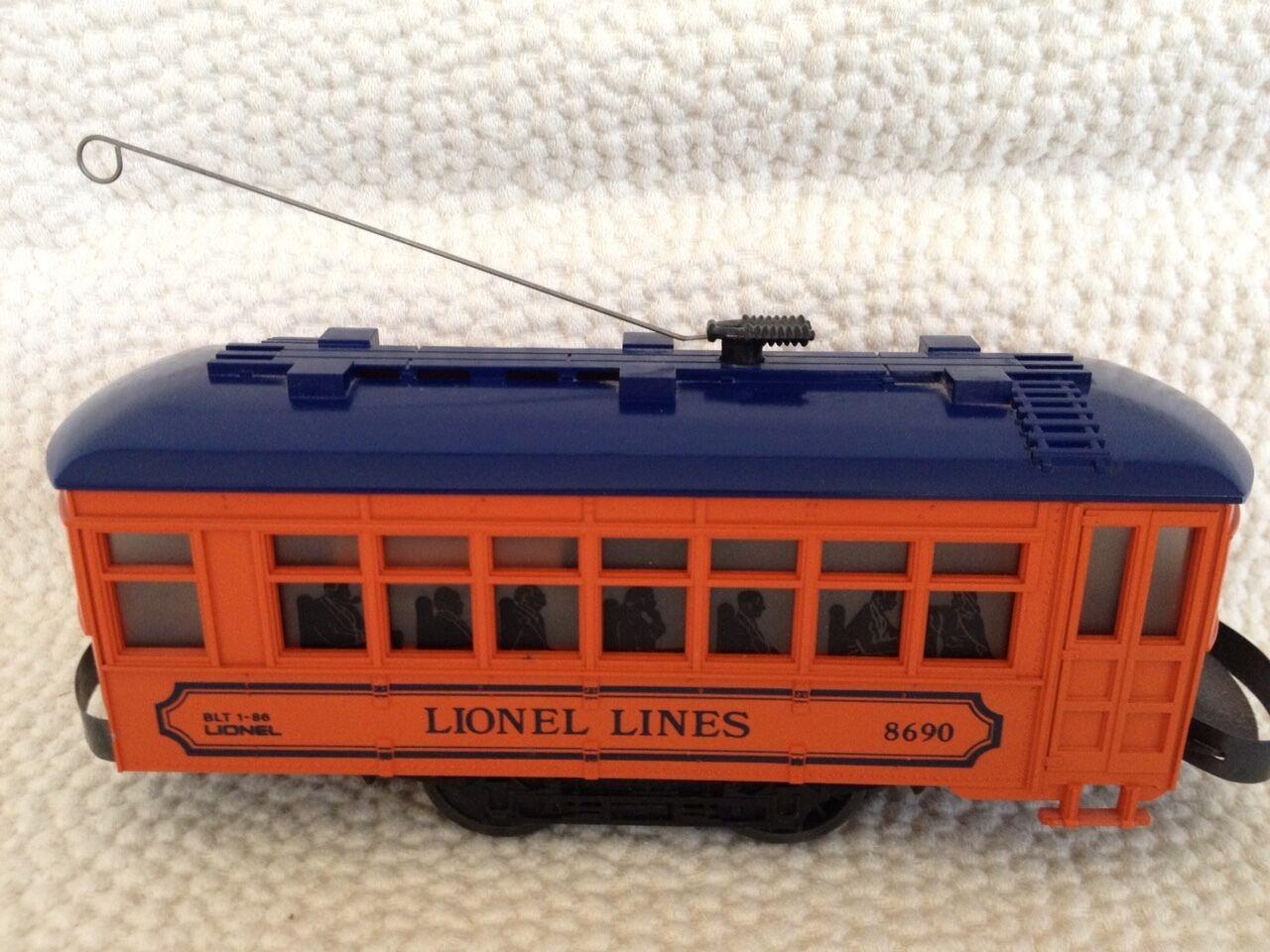Lionel Lines Trolley   8690  grande sconto