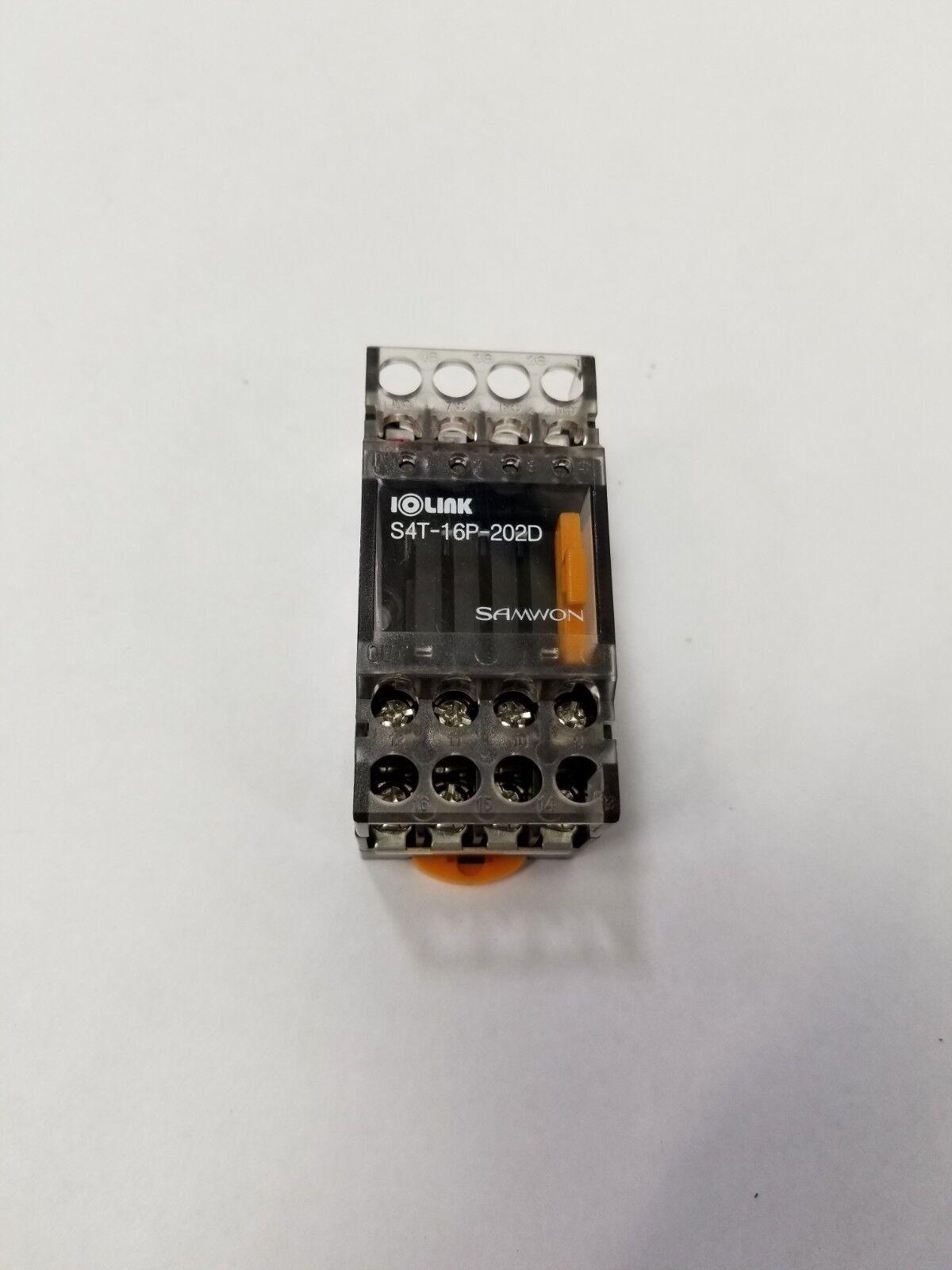 Samwon S4T-16P-202D I O Link Relay Module