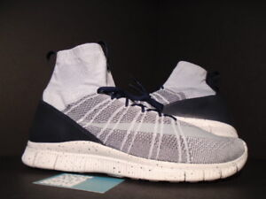 low cost f7314 6b127 Image is loading NIKE-FREE-FLYKNIT-MERCURIAL-PURE-PLATINUM-WHITE-GREY-
