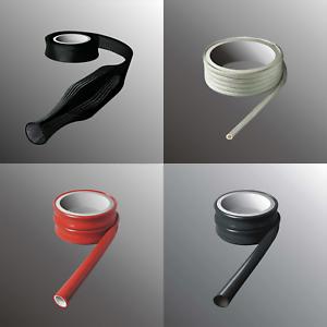 Isolierschlauch Geflechtschlauch Glasfaser PVC Silikon Schlauch Bougierrohr