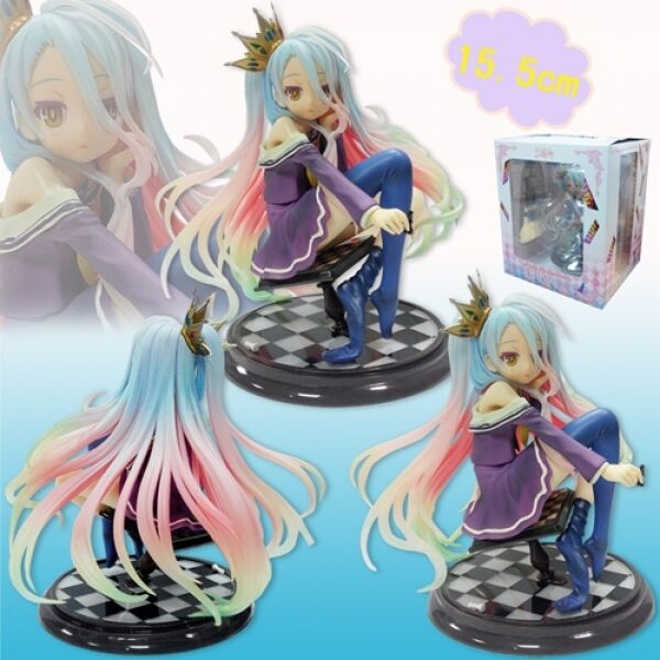 NO GAME NO LIFE  FIGURA SHIRO 15 CM- ANIME COMPLETE FIGURE ESC. 1 7