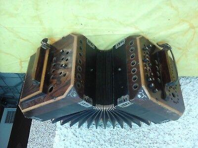 Herrlich 2 × Bandoneon -concertina- Bandonika