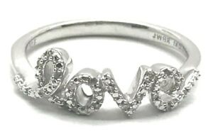 Sterling-Silver-925-Petite-Elegant-Pave-Diamond-Love-Script-Word-Cocktail-Ring-7