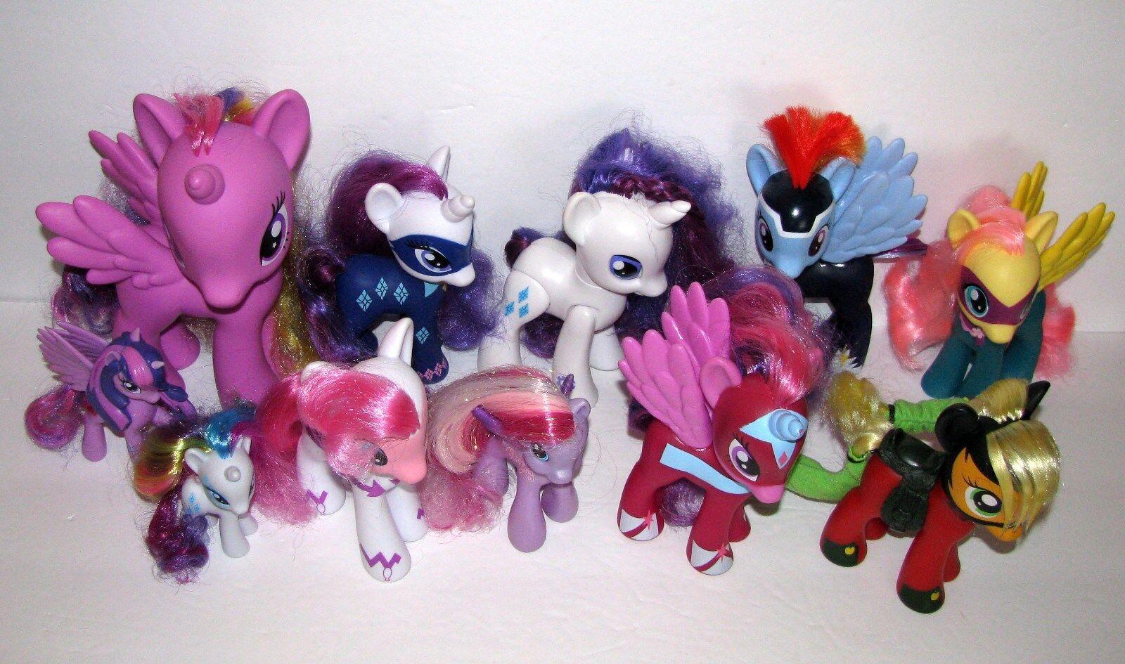 My Little Pony Bundled Lot 11 Ponies