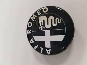 Hubcap Alfa Romeo Black Background Diameter 55 Mm Ebay