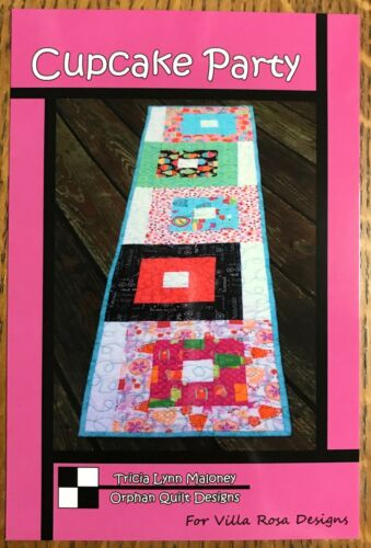 Cupcake Party Quilted Table Runner Pattern