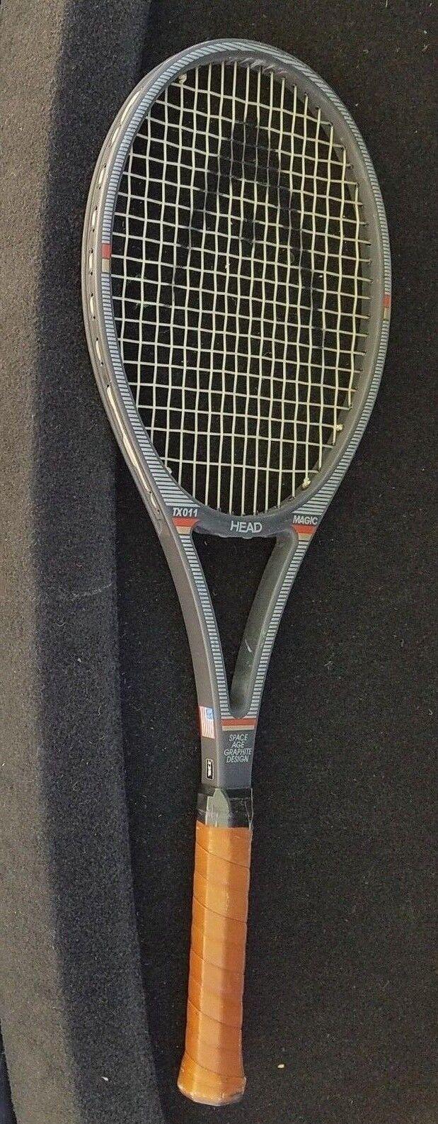 Head TX011 Magic Space Age GRAPHITE Design Raqueta De Tenis Grip 4 3 8 Extra .