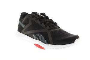 Reebok Flexagon Force 2.0 EG8758 Mens Black Canvas Athletic Cross Training Shoes