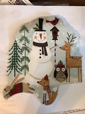 Holiday Christmas Crafts Our NEW Snowmen  Forest Iron On Fabric Appliques