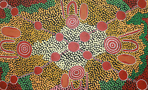 Warrina Designs Australian Aboriginal Art Indigenous Painting