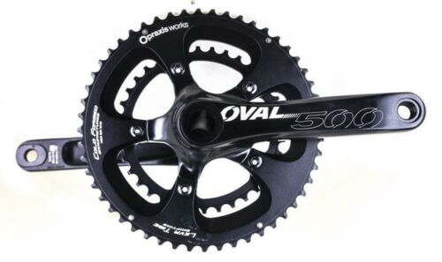 OVAL CONCEPTS 500 CRANKSET 52//36T 172.5 MM 10//11 Speed includes 68//73mm Eng BB