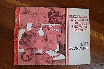 1980 Ford Econoline Van E 150 250 350 Wiring Diagram ...