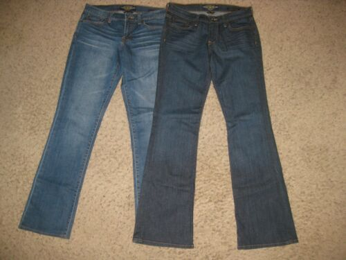 2-Lot Lucky Brand Women's Blue Jeans 4/27 Sweet' N