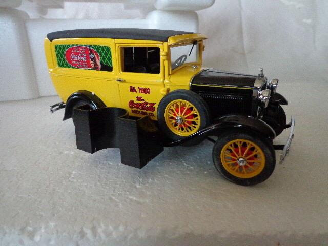 Coca cola danbury mint 1931 camión de reparto que 1 24 Diecast withtitle