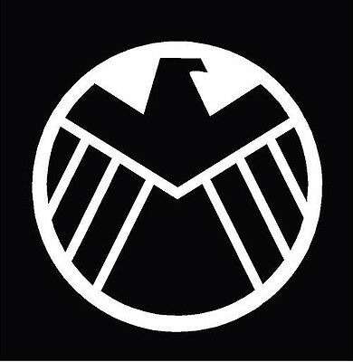 Agents of SHIELD Logo Only computer sticker decal - Nick ...