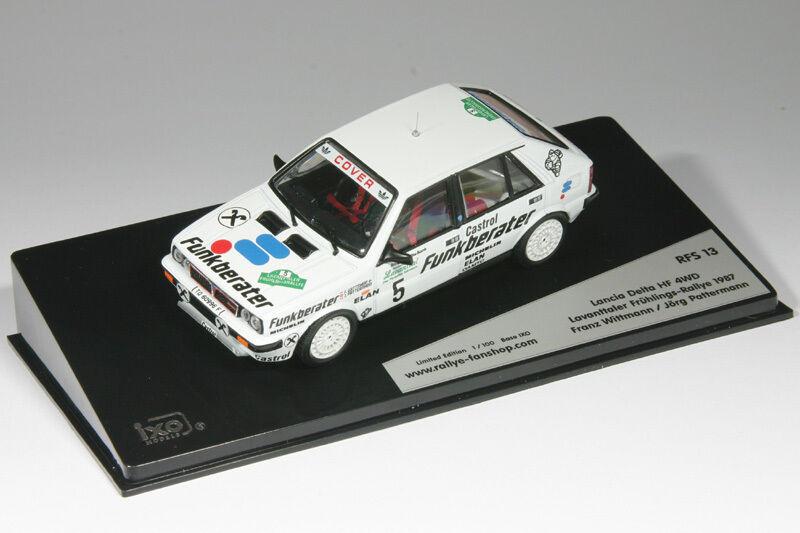 1 43 LANCIA DELTA HF 4wd Wittmann-Rally Lavanttal 1987 - 1 43 RALLY RFS 013