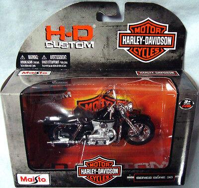 Harley-Davidson 1952 K-Model blanc 1:18 Moto Modèle De Maisto