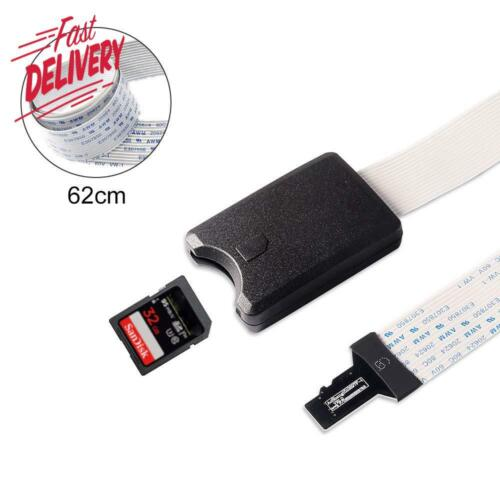 Dorhea 24.4Inch Micro Sd To Sd Card Extension Adapter Cable 62Cm Flexible Memory