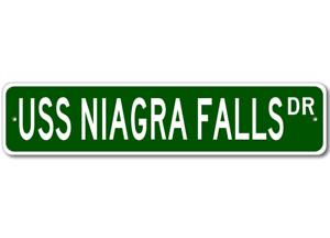 USS-NIAGRA-FALLS-AFS-3-Ship-Navy-Sailor-Metal-Street-Sign-Aluminum