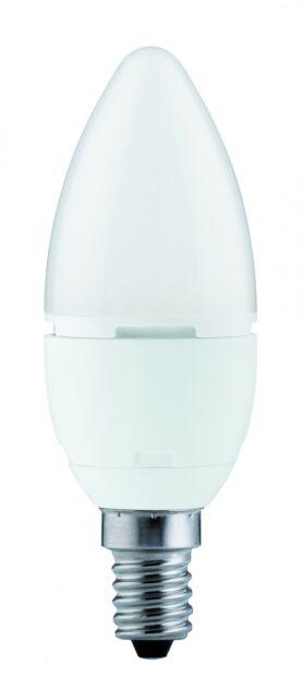 Paulmann E14 Montura 28159 LED CALIDAD Vela 5w E14 230v Blanco cálido