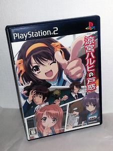 Suzumiya-Haruhi-no-Tomadoi-GIOCO-USATO-OTTIMO-SONY-PS2-ED-JAP-NTSC-J-VBC-53933