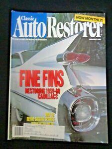 Classic Auto Restorer Magazine Nov 1994 Restoring 1959 Cadillac Fins Restoration