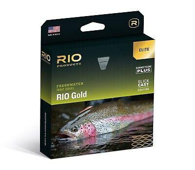 WF5F New RIO Elite Gold Fly Line
