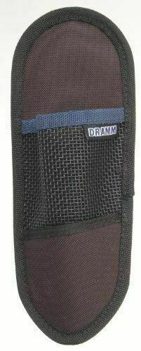 Dramm 19015 Cutting Tool Holster with Durable Nylon and Metal Belt Clip Black
