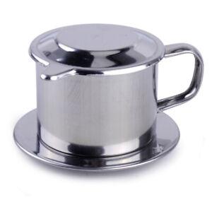 Useful Press Gravity Insert Infuser Vietnamese Coffee Filter Maker Vietnam Phin Ebay