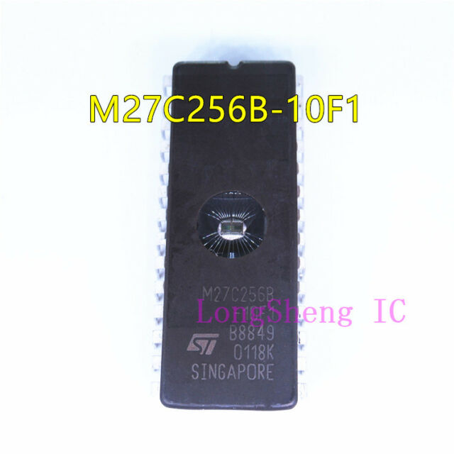 5PCS IC M27C256B-10F1 27C256 CDIP-28 ST NEW GOOD QUALITY
