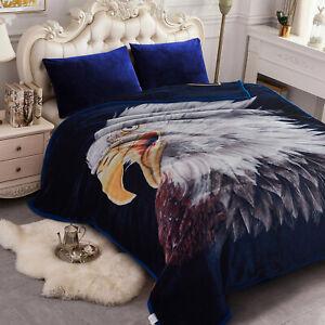 Korean Mink Blanket 2 Ply Thick Blanket Warm Blanket Super Soft Queen Size