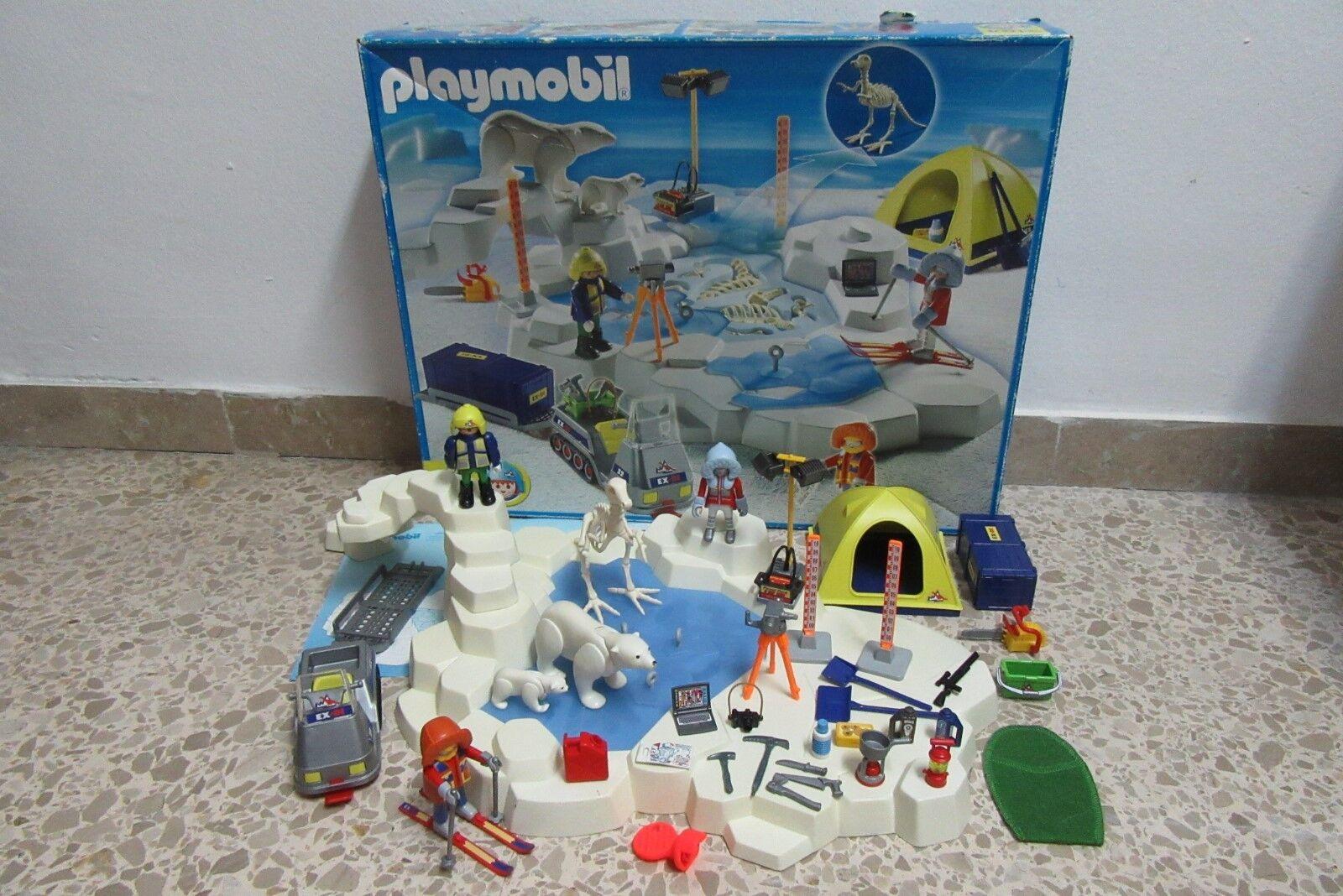 Jugarmobil - Expedicion Polar - Dinosaurio Hielo Oso Tienda - 3184 - COMPLETO OVP