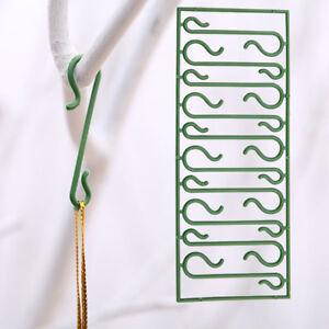 10pcs Christmas Tree Hanging Hooks Ornaments DIY Xmas Tree Pendant Home Decor