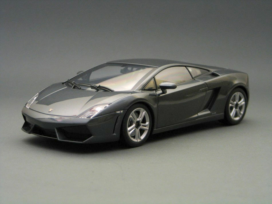 NOREV 2009 LAMBORGHINI GALLARDO LP560-4 GREY 1 18 Model 187961