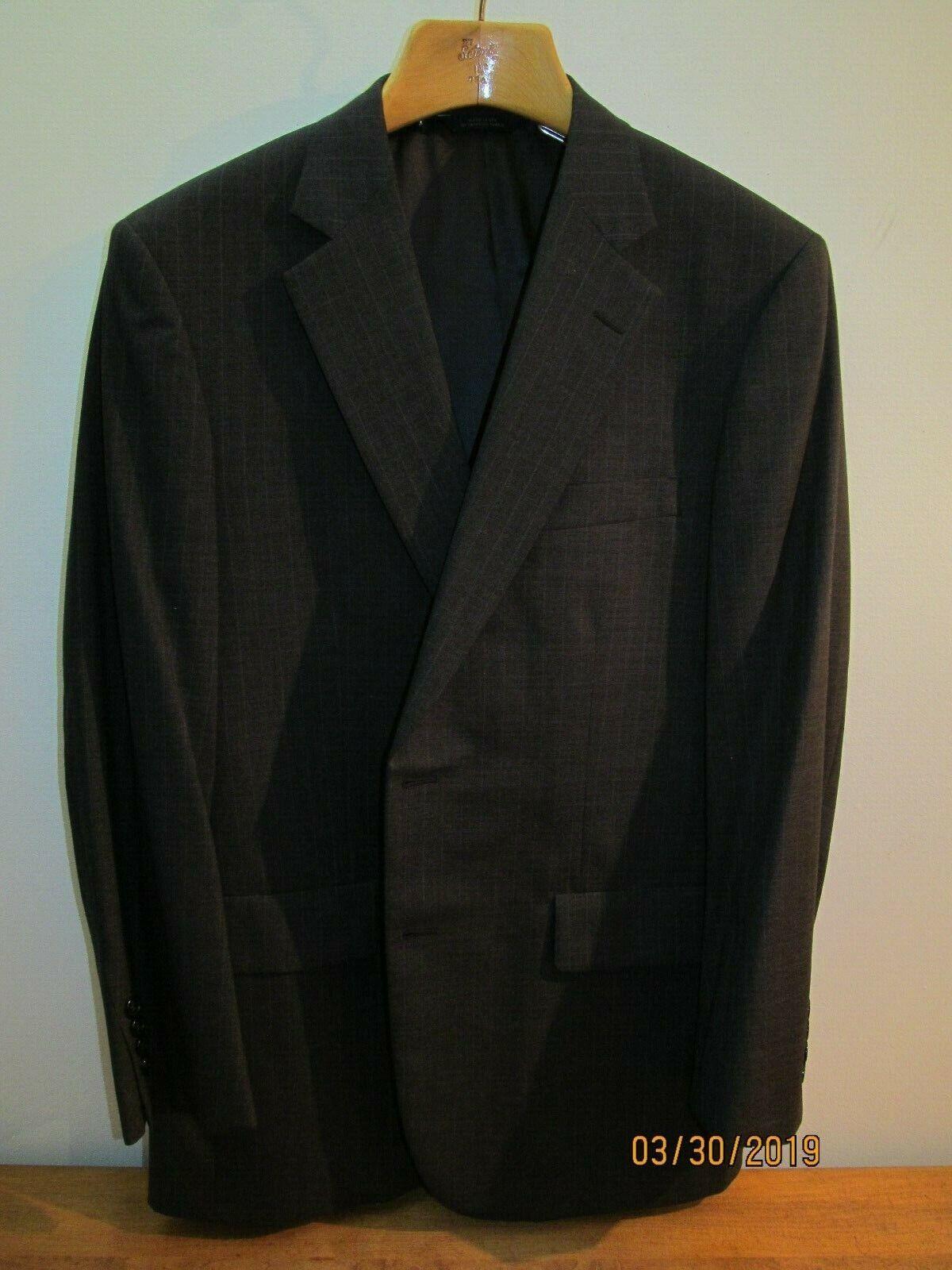 Brooks Bredhers Brooksease Pin Stripe Blazer Sport Coat  Men's 41R 2 Button