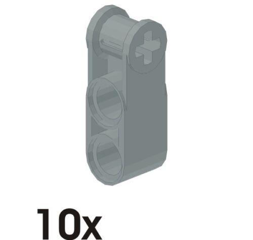 603 42003 2 Löcher in neu-hellgrau 10 Stück NEUE Verbinder 3lang