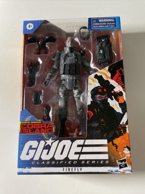 "Hasbro G.I. Joe Classified Series Special Missions: Cobra Island Firefly 6"" NEW"