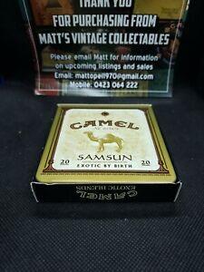 Vintage Camel Cigarette Tins